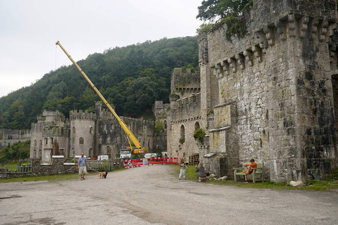 Gwrych Castle is the main location for I'm A Celeb 2020