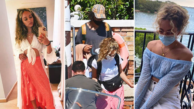 Jade Thirlwall and Jordan Stephens had their first holiday together