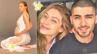 Gigi Hadid revealed what her experience was like as she shot her maternity snaps