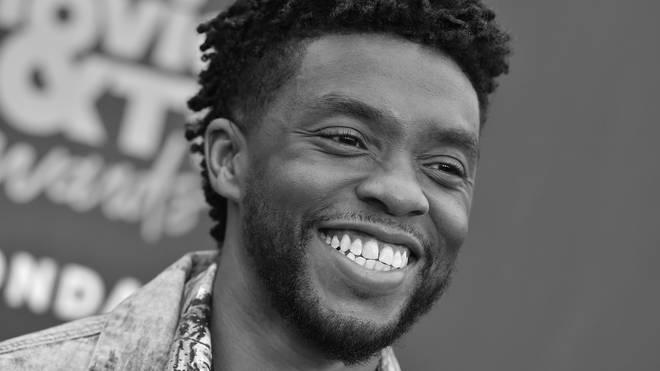 Celebrities pay tribute to Chadwick Boseman