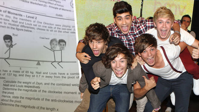 One student had to answer an exam question about ZAYN leaving One Direction
