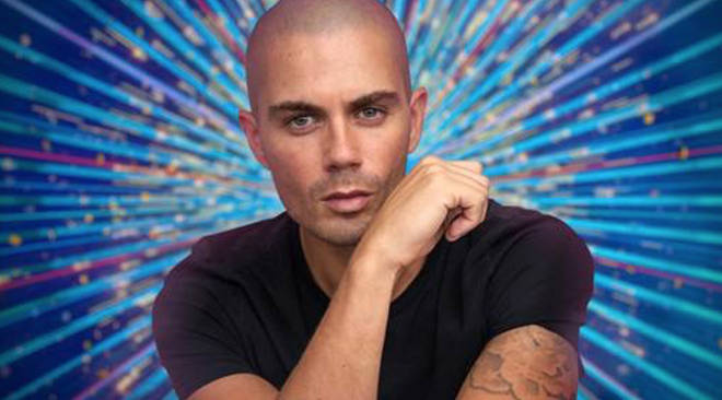 Max George from 'The Wanted' confirmed for 'Strictly' 2020