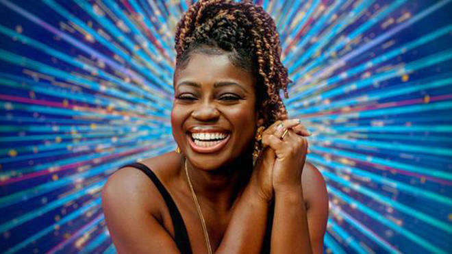 Clara Amfo is temporarily swapping DJing for dancing