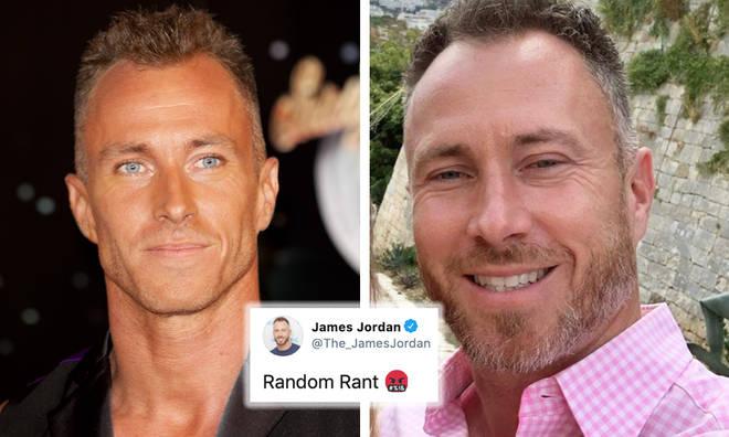 James Jordan goes on Twitter rant about 'political correctness'
