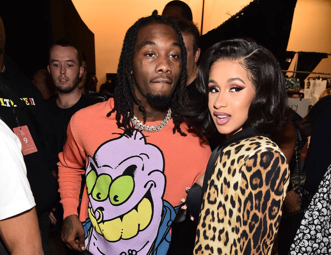 Cardi B and Offset before the birth of Kulture
