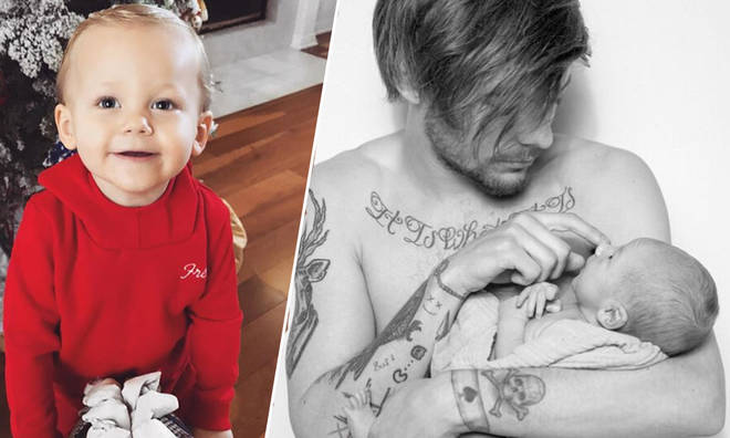 Louis Tomlinson and his two year old son, Freddie Reign, have the cutest relationship