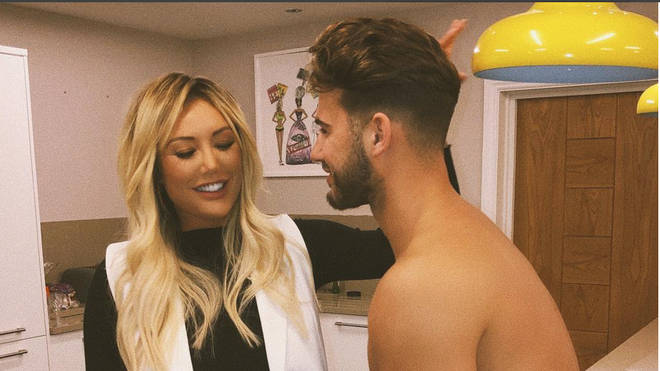 Charlotte Crosby and Joshua Ritchie sparked pregnancy rumours with this photo.