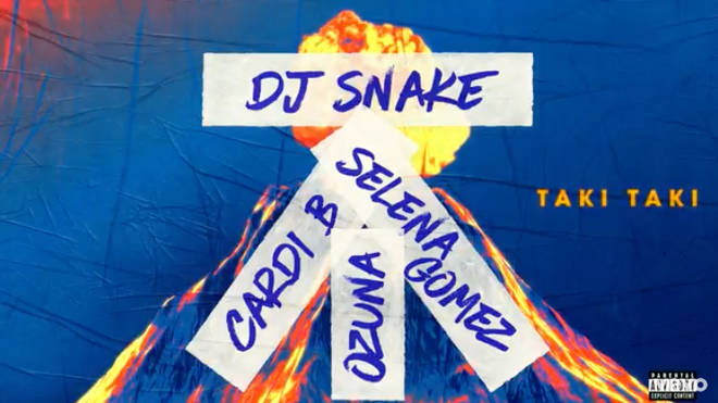 Fans can't get over the explicit English lyrics of 'Taki Taki'.