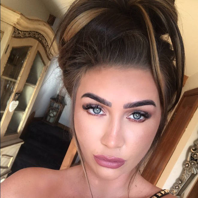 Lauren Goodger had a nose job after breaking it