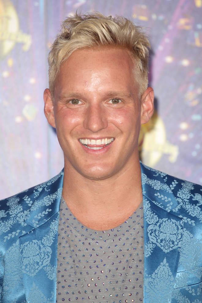 Jamie Laing injured himself at the 2019 Strictly launch show