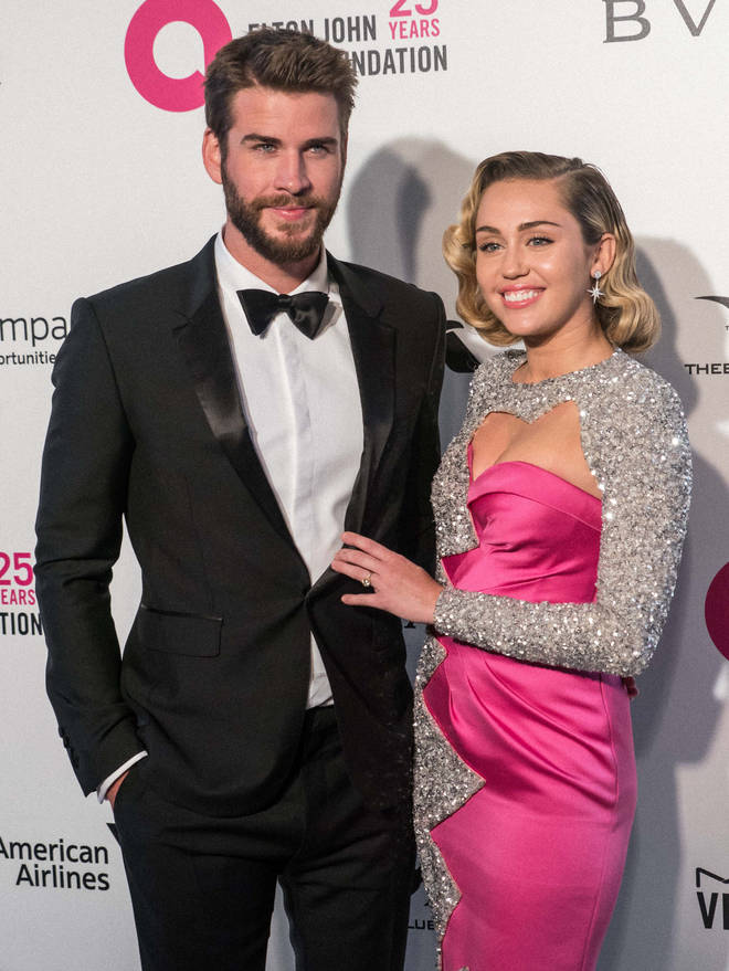 Miley Cyrus and Liam Hemsworth were together for 10 years