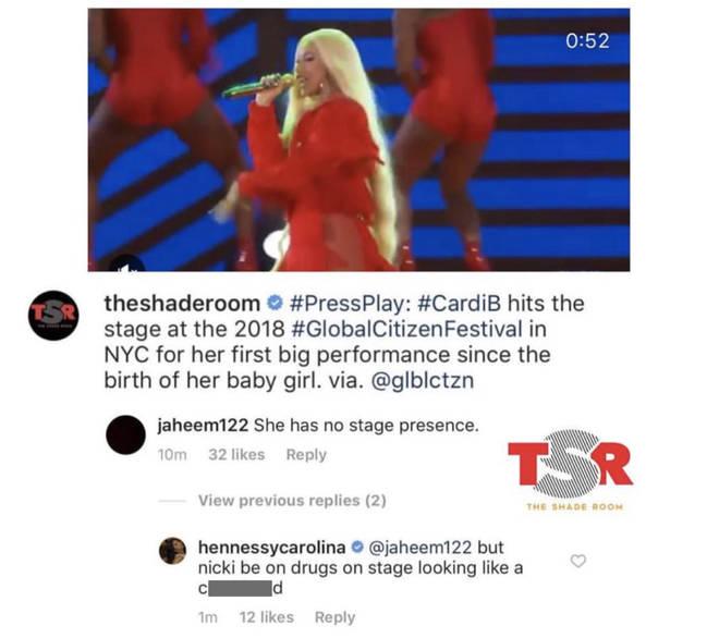 Cardi B's sister insults Nicki Minaj on Instagram