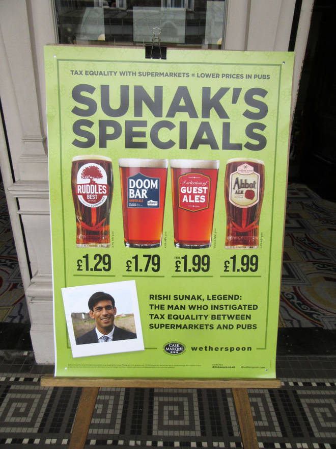 Wetherspoon pubs are offering a new kind of discount until November