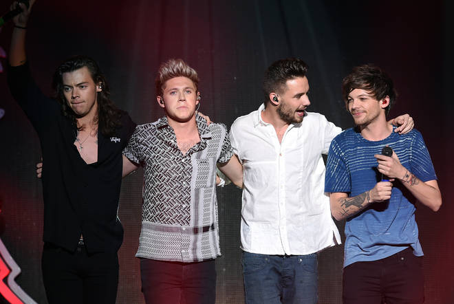 Liam Payne received birthday messages from 1D