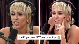 Miley Cyrus spoke about her relationships, music and life on the Joe Rogan podcast