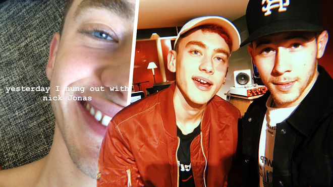 Olly Alexander shares his excitement after hanging out with Nick Jonas