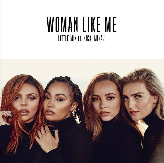 Little Mix and Nicki Minaj will release 'Woman Like Me' on 12th October 2018