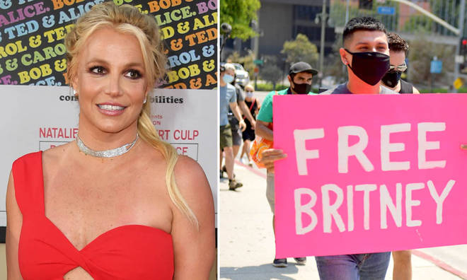 Britney Spears is endorsing the #FreeBritney movement