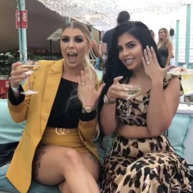 Cara De La Hoyde was meant to be Olivia's bridesmaid