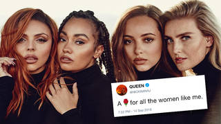 Little Mix and Nicki Minaj have been teasing the lyrics to 'Woman Like Me'
