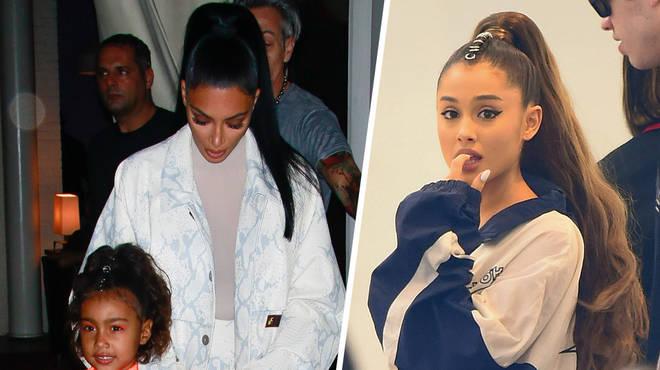 Ariana Grande hilariously trolled Kim Kardashian.