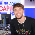 Capital Breakfast host Roman Kemp in Capital's studios