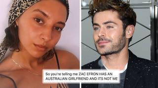 Zac Efron's girlfriend is Australian aspiring model Vanessa Valladares