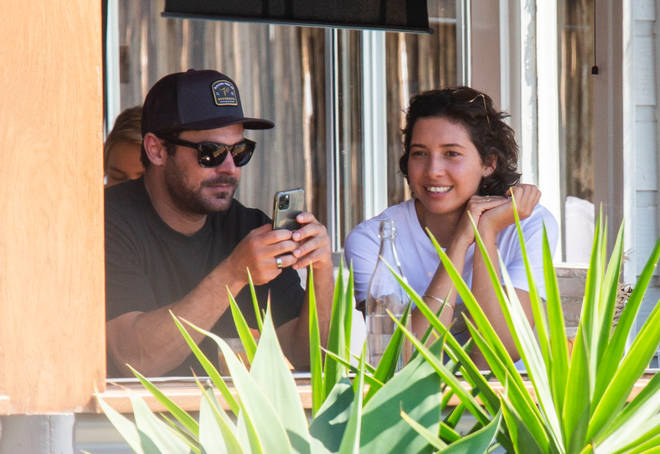 Zac Efron and Vanessa Valladares out for brunch together in Byron Bay