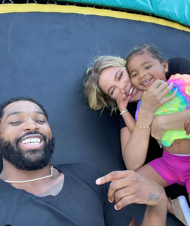 Khloe Kardashian and Tristan Thompson share daughter True, 18 months