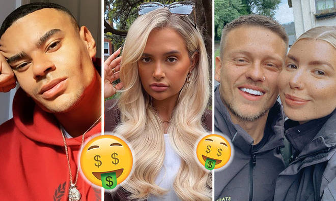 The richest 'Love Island' contestants of all time
