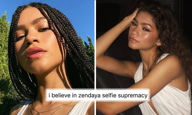 Zendaya breaks the internet whenever she posts a selfie
