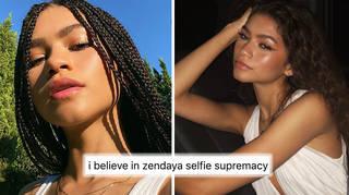 Zendaya breaks the internet whenever she posts a selfie
