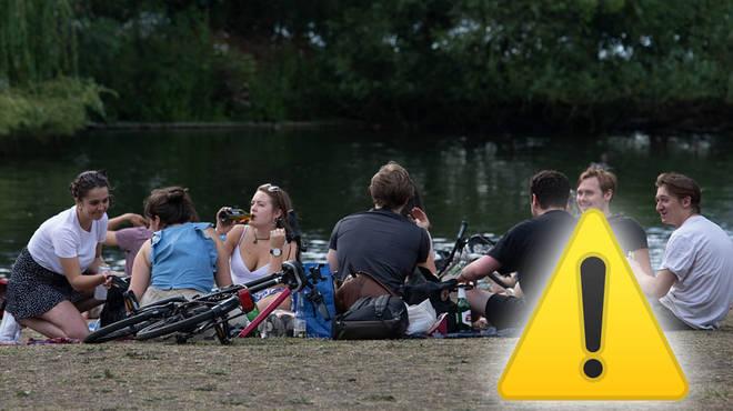 New coronavirus laws in England ban social gatherings of more than six