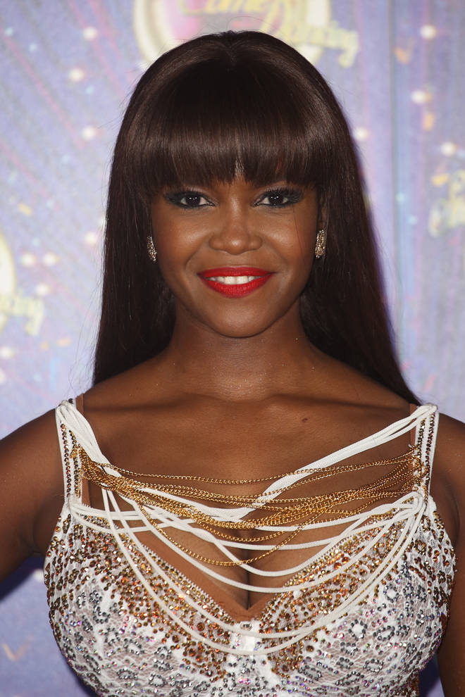 Oti Mabuse at Strictly's 2019 launch show