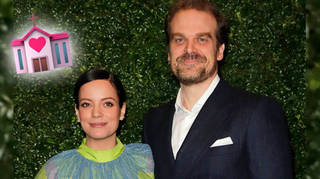 David Harbour and Lily Allen are married