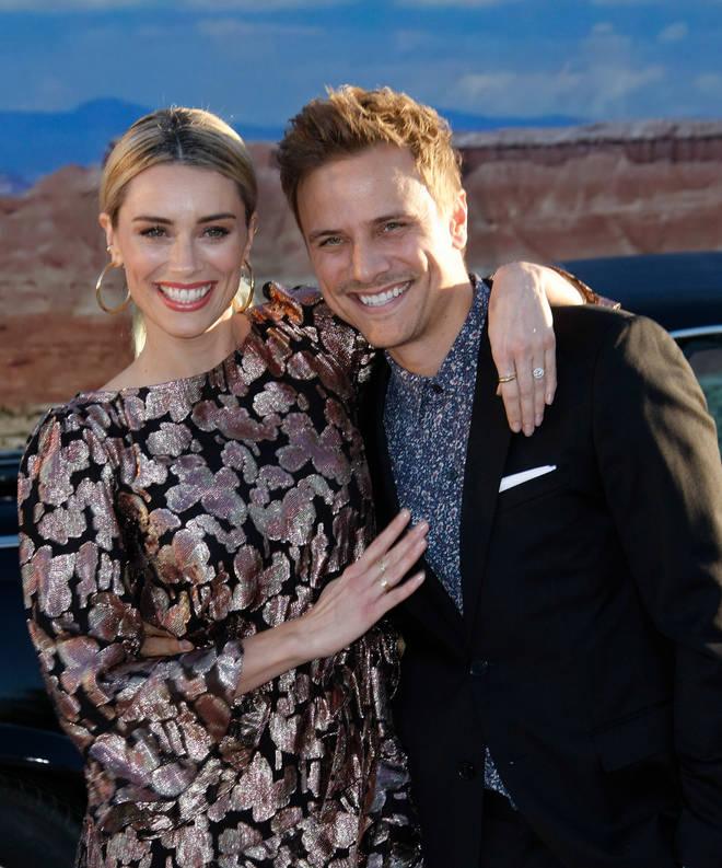Arielle Vandenberg is engaged to boyfriend Matt Cutshall