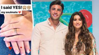 Dani Dyer gets engaged to Jack Fincham on Capital Breakfast
