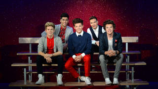 Madame Tussauds have removed their wax replicas of One Direction