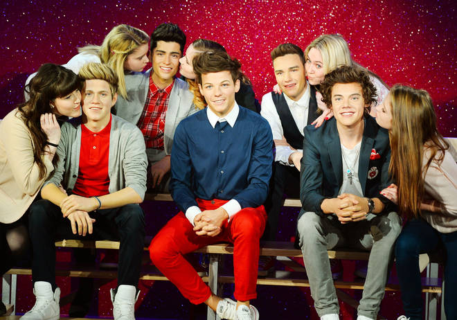 One Direction's waxworks have been on display since 2013