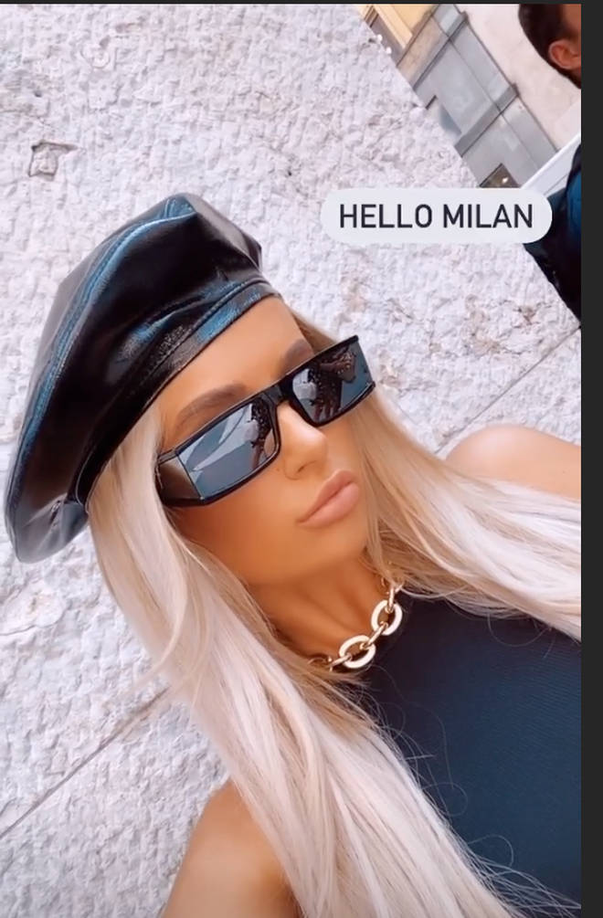 Molly Mae is unbothered by haters as she jets to Milan