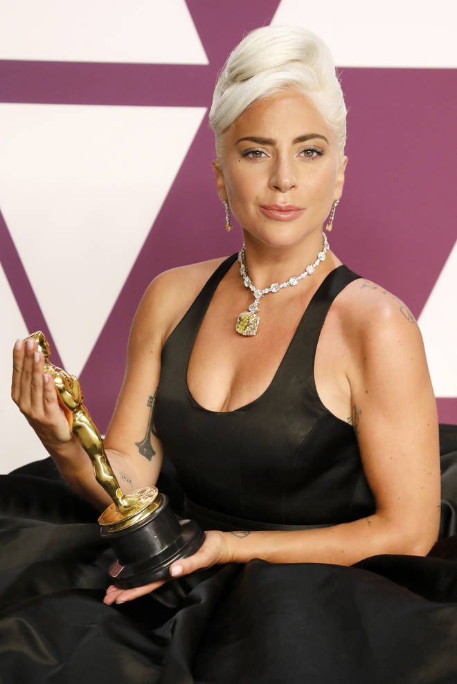 A Star is Born with Lady Gaga received an Oscar award