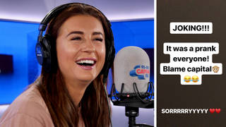 Dani Dyer apologises for her engagement prank to Jack Fincham