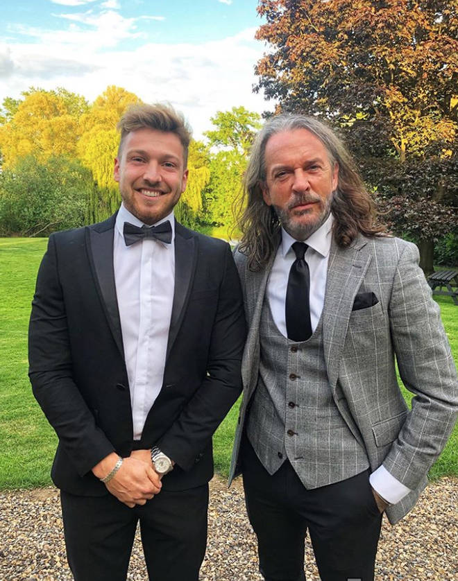 Sam Thompson has been staying with best friend Pete Wicks since his split from Zara