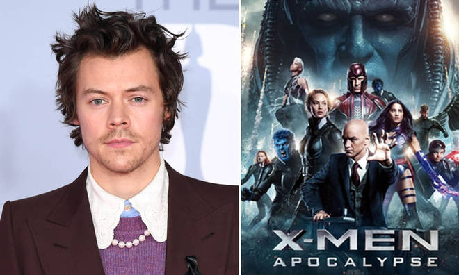 Harry Styles is apparently in talks to star in an X-Men reboot.