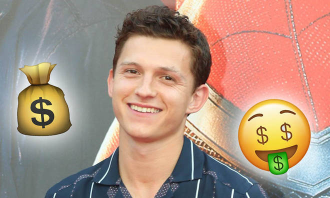 Tom Holland has made himself an incredible net worth