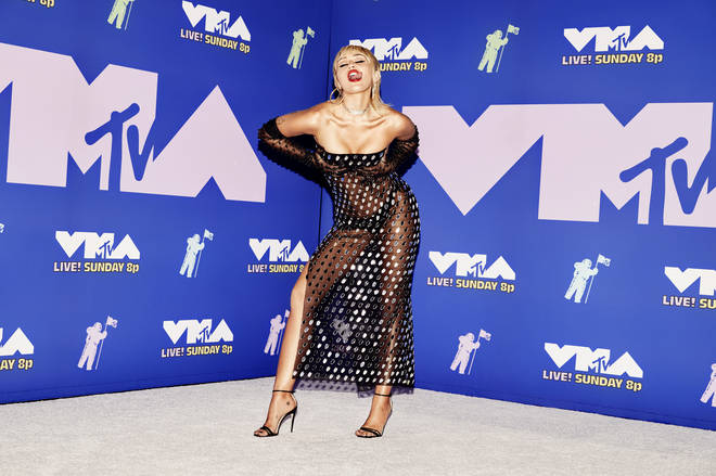 Miley Cyrus at the 2020 MTV Video Music Awards – Arrivals