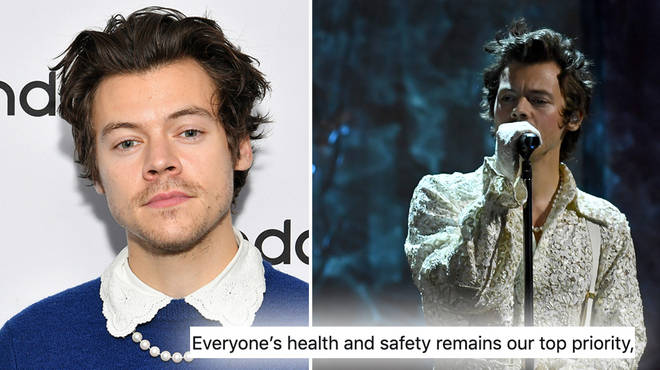 Harry Styles has postponed the remainder of his 2020 shows