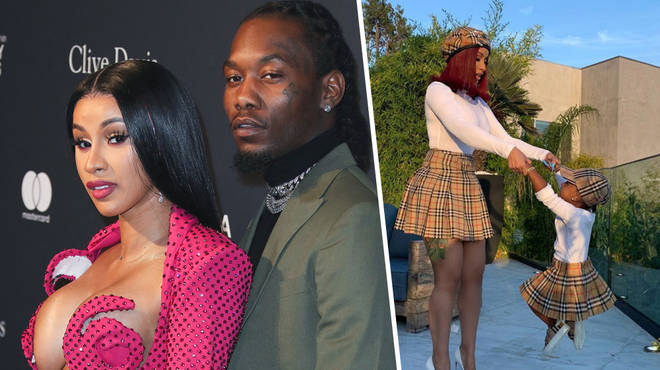 Cardi B and Offset share daughter Kulture