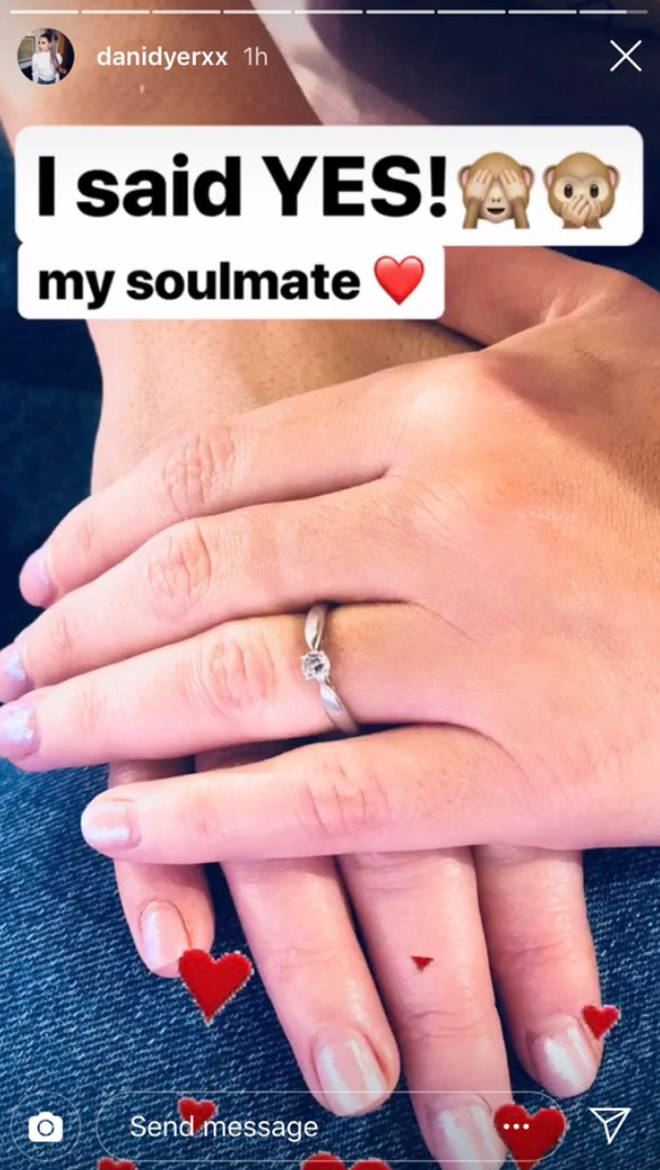 Dani Dyer pranks the world announcing a fake engagement to Jack Fincham