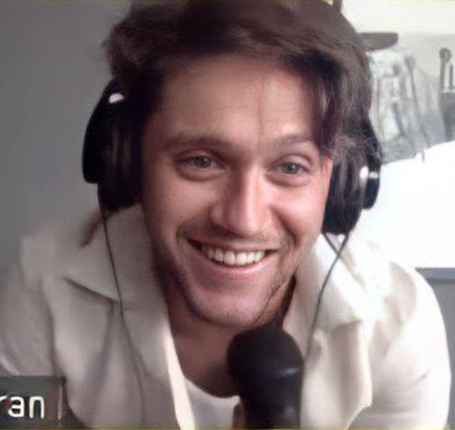 Niall Horan chatted to lucky fans on a Zoom call